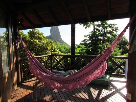 Pousada Triboju: Hammock on balcony
