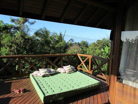 Pousada Triboju: Balcony