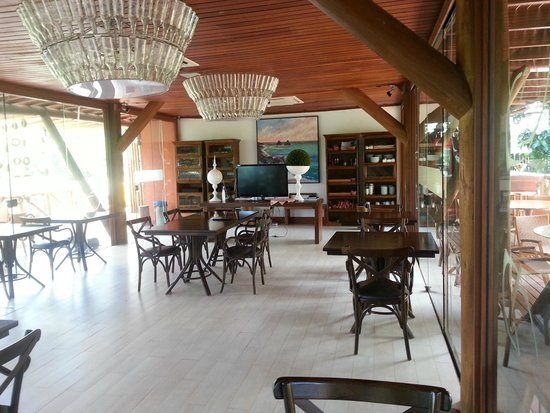 Pousada Triboju: Dining room/reception area