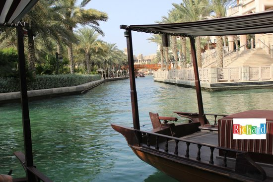 Jumeirah Al Qasr at Madinat Jumeirah: The Abra in the Resort Waterways...