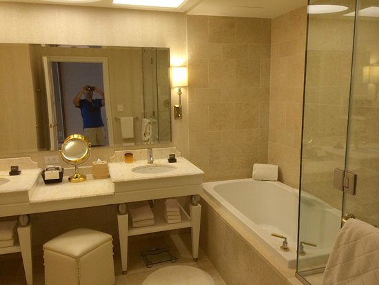 Wynn Las Vegas : Nice Bathroom.  Well maintained and clean