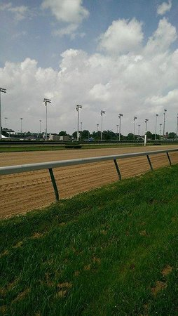 Kentucky Derby Museum: Back of Track