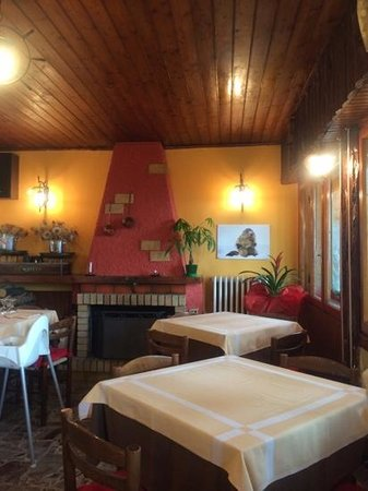 Colle Melosa Ristorante & C.: sala da pranzo