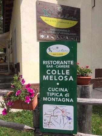 Colle Melosa Ristorante & C.: esterno