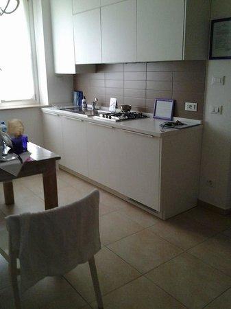 Palazzo Boscareto studio apartments: cucina