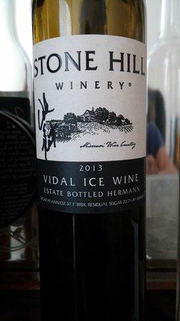 Stone Hill Winery: Vidal Ice Wine