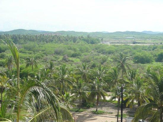 Torres Mazatlan Resort: view away from beach