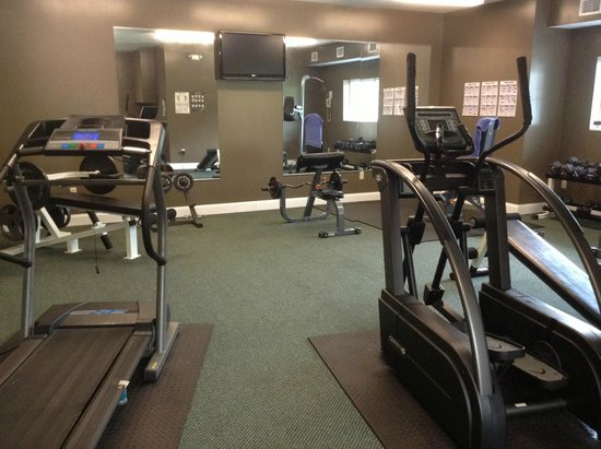 Webbs Year Round Resort: gym