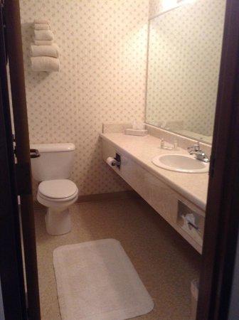 Webbs Year Round Resort: our bathroom
