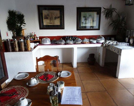 Rissington Inn: Breakfast