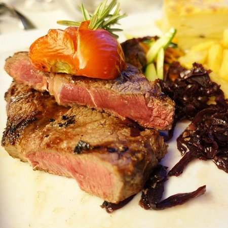 All Beef : Rib-eye grilled to perfection