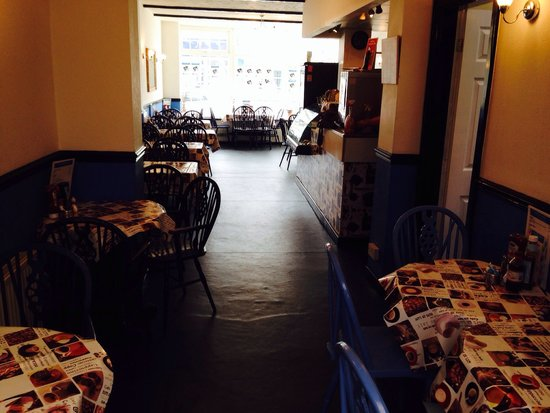 The Willows Coffee House : New Flooring looks Good