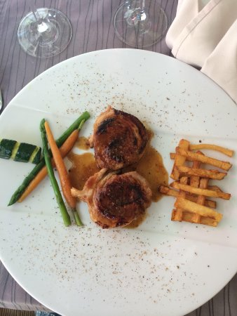 Restaurant la Salicorne : Agneau en selle
