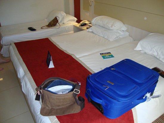 Iberostar Diar El Andalous : The decent sized beds
