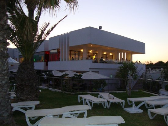 Iberostar Diar El Andalous : The main restaurant balcony