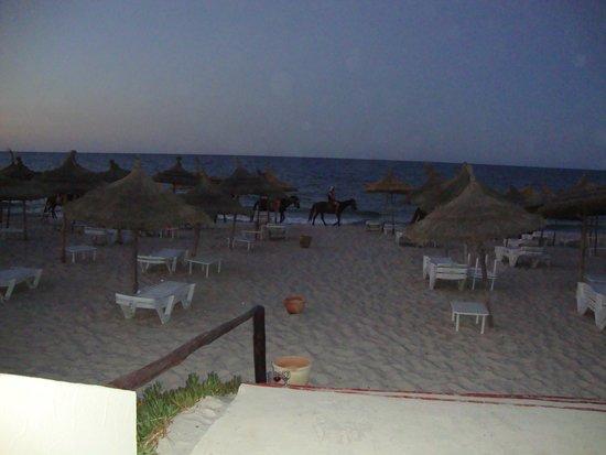 Iberostar Diar El Andalous : A view of the beach at dusk
