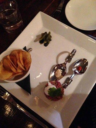 The Trough Dining Co.: AAA Alberta beef tar tar