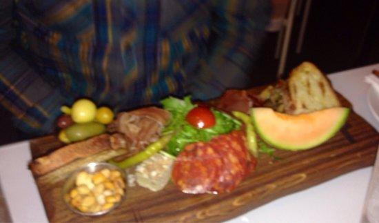 Ricci's Place: Spanish anti pasto board