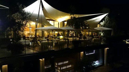 Hotel Marlena: terrasse