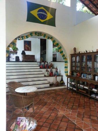 Hotel 7 Colinas: Reception area