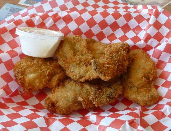 Bob's Chowder Bar & BBQ Salmon: Perfect Oysters...