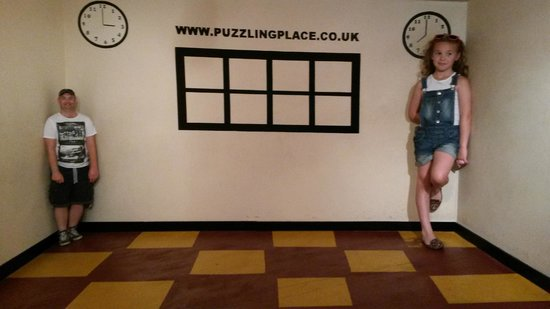 The Puzzling Place : its just an illusion