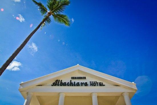 Hotel Albachiara : Entrance
