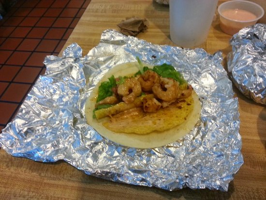 Villano Beach, FL: Shrimp Tacos