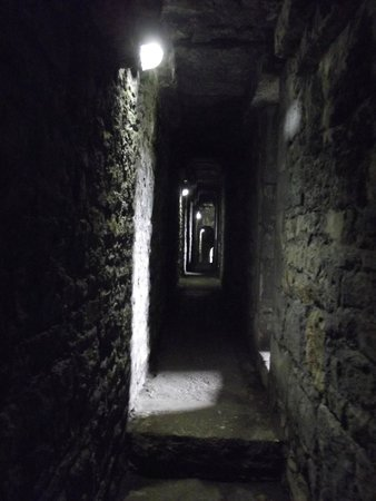 Beaumaris Castle: One of many passageways to explore