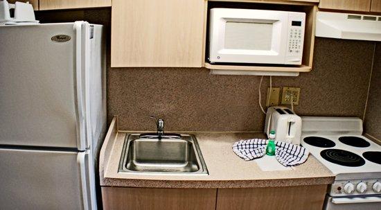 Shalimar Cottages and Motel: Motel Eff. Room Kitchenette