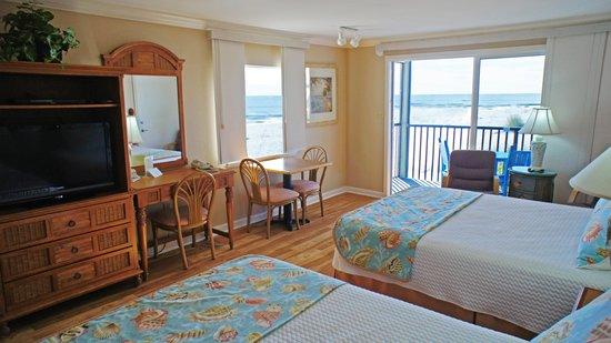 Shalimar Cottages and Motel: Gulf Front Motel Eff. Room