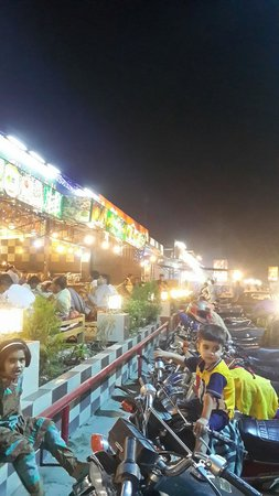 Rawalpindi, Pakistan: A view of pindi food street