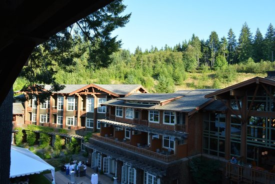 Alderbrook Resort & Spa : view from the corner room