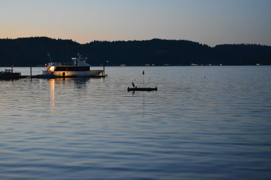 Alderbrook Resort & Spa : View of the Lake