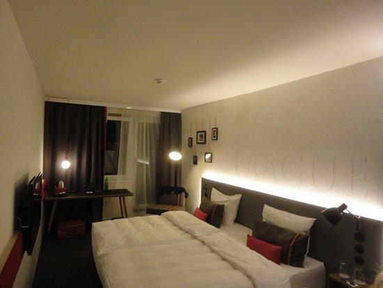 pentahotel Prague : Notre chambre