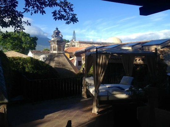 El Convento Boutique Hotel: The view from the terrace.