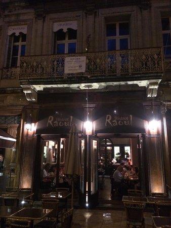 bistrot Raoul: The façade