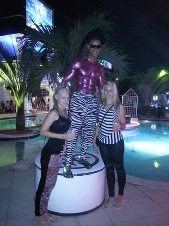 The Tropical at Lifestyle Holidays Vacation Resort: Thursday party with John Cena