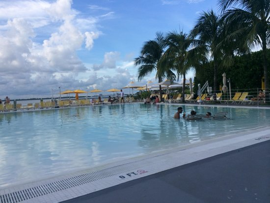 The Standard, Miami: Pool area