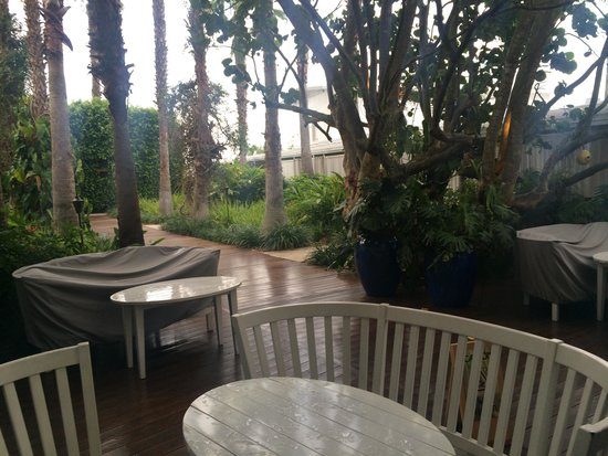 The Standard, Miami: Hotel grounds