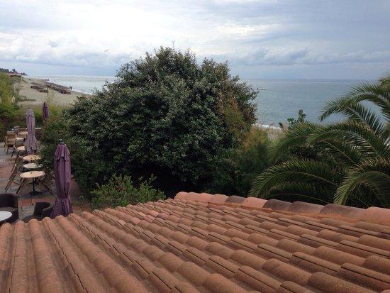 Levolle Marine Hotel Et Residence : Vue de la chambre 19