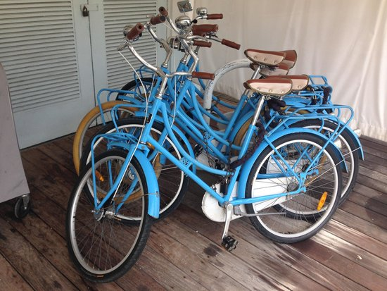 The Standard, Miami: Bikes for borrow