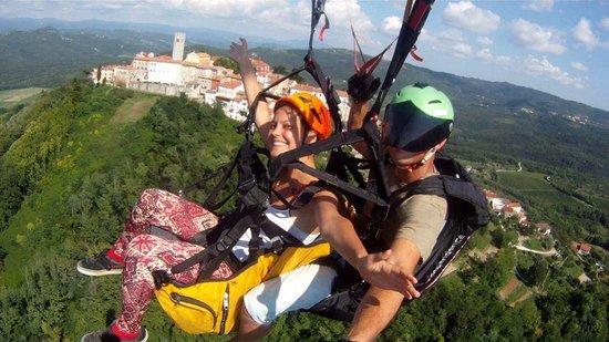 Paragliding Tandem Istra