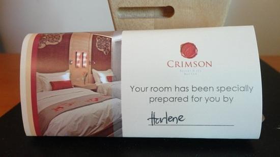 Crimson Resort and Spa, Mactan: Thanks Harlene!