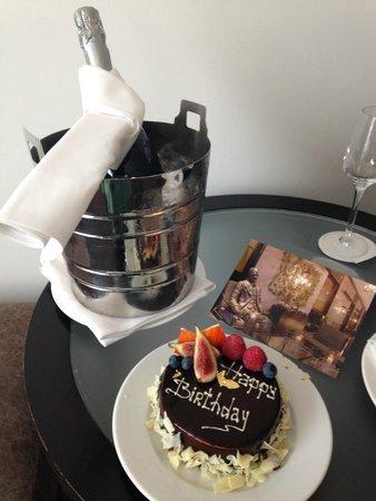 Hyatt Regency London - The Churchill: Birthday surprise for the hotel staff