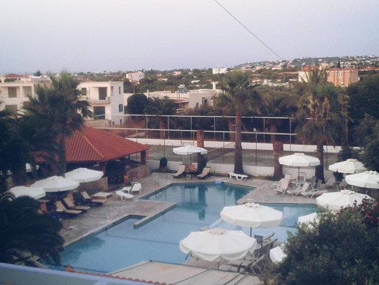 Hotel Klonos Anna: View from the room