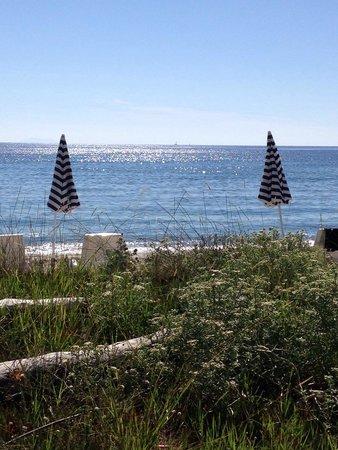 Levolle Marine Hotel Et Residence : Vue terrasse