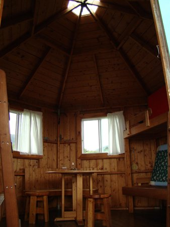 Jumping Mouse Eco-Camping : inside cabin