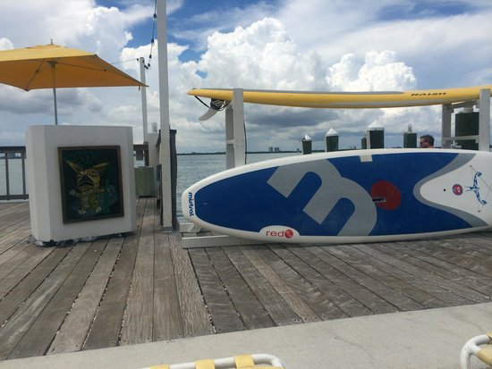 The Standard, Miami: Paddleboards for rent