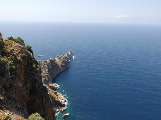 Alanya Kalesi (Castle): The view from the castle